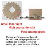 cortadora del laser de la fibra de la placa de acero de carbón del acero inoxidable de 1000W Wuhan para la venta