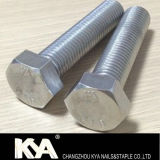 Acero inoxidable DIN931 Tornillo hexagonal