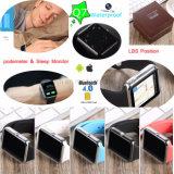 사진기와 SIM 카드 구멍 Q7를 가진 손목 지능적인 시계