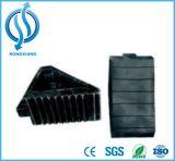 200*100*150mm schwarzer Gummirad-Keil