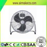 metaal van de Ventilator van de Vloer van de Hoge Snelheid van 40cm/Chroom 3 het Koelen/de Koeler van de Snelheid