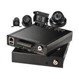 4 sistemas vivos de la cámara del vehículo comercial del canal con 4G 3G