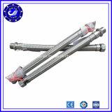 Tubo flessibile flessibile unito avvitato del metallo di muggito dell'acciaio inossidabile