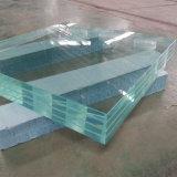 15мм 19мм пользовательский размер Low-Iron закаленного ламинированного стекла