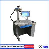 Bloco de resina epóxi máquina de marcação a Laser de fibra com duplo Red Dot Positioning