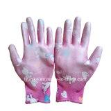 13G нейлон трикотажные нитриловые перчатки промышленности с покрытием