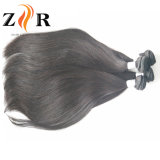 卸し売りバージンのインドの毛の織り方7Aの加工されていない人間の毛髪の拡張