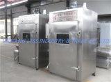 Hersteller-Zubehör-direkt Huhn-Raucher-Maschine/rauchte Fleisch-Haus für Verkauf