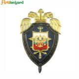 Emblema da polícia com carimbo de Aço Inoxidável