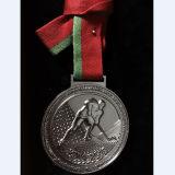 주문 매트 은 금속 메달
