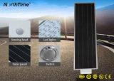 Tous dans un réverbère solaire de DEL pour l'éclairage extérieur