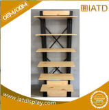 Хлопните вверх деревянный шкаф книг индикации одежд малышей одежды хранения для мобильного телефона/перчаток/тапки/нижнего белья