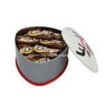 Цветастая коробка олова чая офсетной печати шотландки (T001-V13)