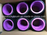白いナイロン物質的な円形の織物のブラシ(YY-254)