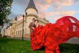 Красные отбортовывая платья вечера мантии вечера Ballgown Bridal (TJBLCT019)