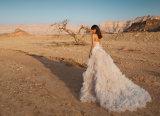 外装の花嫁衣装のウェディングドレスのLaidesの衣服(BH010)