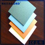 PE di alluminio/PVDF ASP del materiale composito per il rivestimento della parete divisoria