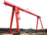 una sola grúa de pórtico de la viga del marco 25 toneladas