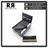 24 paquetes que fuman el papel de cigarrillo blanco delgado gigante regular con el sello del imán