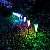 Ruta al aire libre Jardín Solar LED Lámpara de césped decorativo