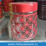 [800مل] مرطبان زجاجيّة مع زاهية معدن تغذية, مرطبان زجاجيّة