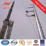 12m Polen 30kv Zeilen achteckige Stahlpolen