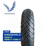 Neumático 120/80-17 110/80-17 100/90-17 de la motocicleta