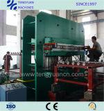 Tipo grande superior prensa de vulcanización de goma con la talla enorme de Pressure&Platen