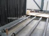 A través de la placa de acero tipo de extracción de Granallado máquina