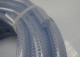 Tubo Reforçado com Fibra de PVC / Tubo de mangueira de plástico transparente - Fabricante de Borracha
