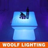 New&Unique 디자인 LED 판매를 위한 테이블에 의하여 조명되는 LED 바 테이블