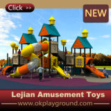高品質の公園(X1505-8)のための屋外の子供の運動場装置