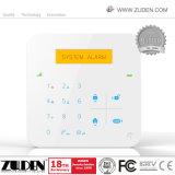 Het draadloze GSM Alarm van de Veiligheid van het Huis met tweerichtingsIntercom