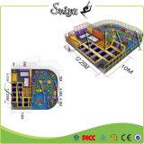 Atração interna comercial do Trampoline do OEM do Playability do equipamento da aptidão