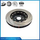 OEM/Custom/Standardの鋼鉄または鉄の鋳造のオートバイブレーキディスク
