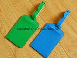 Multi Farbefaux-Leder-Arbeitsweg Identifikation-Marke für Gepäck