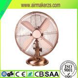 Tischventilator-/Metal-Schreibtisch-Ventilator des Metall12inch/Retro Metallventilator