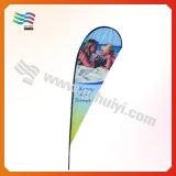 Флаг пляжа изготовленный на заказ печатание прочный (HY-AF567)