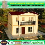 Casa prefabricada prefabricada de los dormitorios ligeros confeccionados de la estructura de acero 3