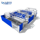Животноводческих ферм Pig оборудование популярных Farrowing ящик