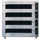 Groot/Groot Dek 4 12 van de Luxe van de Capaciteit professioneel Elektrisch de Oven van het Dienblad