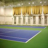 屋内テニスのためのロールタイプに床を張る高品質PVCスポーツ