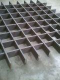 Appuyez sur caillebotis en acier de verrouillage de ligne de production