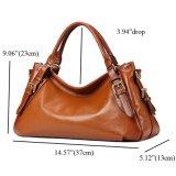 Sacchetto di spalla caldo di vendita del progettista delle donne della signora Handbag PU di modo (WDL0311)