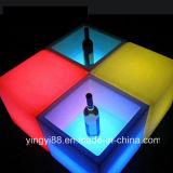 Nuevo LED Cubo de Hielo La doble barra cuadrada de la Capa de color RGB KTV cerveza cubo de hielo