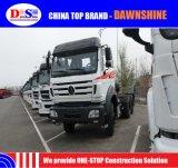 Camion del trattore della Cina 6X4 420HP 10wheels Beiben con tecnologia del benz di Mercedes