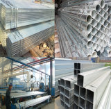 200X400mm Galvanized Rectangular Steel Hollow Section