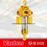 10t Electric Chain Hoist Fixed Type Certified Single Speed