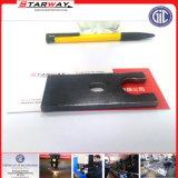 Molla di vetro della guida del raccoglitore della corda dei capelli del tubo flessibile di precisione di Stainles di acciaio del metallo su ordinazione della lamiera