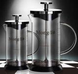 350mlフランス人の出版物のコーヒーメーカーのフランス人の出版物のコーヒーるつぼガラスのコーヒープランジャ